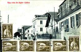 AF 230/ C P A  - PORTUGAL-  LISBOA -UMA VISTA DE ALGES - Lisboa