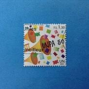 2001 NAZIONI UNITE ONU GINEVRA NATIONS UNIES FRANCOBOLLO USATO STAMP USED - Servizio Postale 1,30 - Europe (Other)