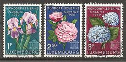 Luxemburg 1959 // Michel 606/608 O