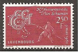 Luxemburg 1960 // Michel 620 O