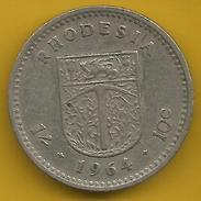 Rhodesia - 10 Cents 1964 - Rhodesië