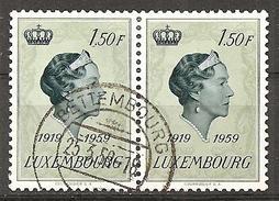 Luxemburg 1959 // Michel 601 O Paar