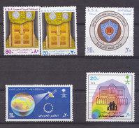 SAUDI ARABIA 4  COMPLETE SET   FROM1979- TILL  1985 ALL STAMP ARE MINT NH - Saudi Arabia