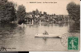 BALBIGNY - Le Pont Du Gour Janot - Autres Communes