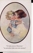 "CPA Humoristique - "" Je Prendrai Bien Soin De Maman "" - Cartes Humoristiques"
