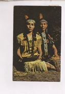 CPA NEOPIT, INDIANS, MOTHER AND DAUGTHER En 1976! (voir Timbres) - Etats-Unis