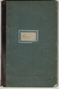 1889 - 1907, Carnet De Menus - 72 Pages -  Voir Scans - Menus