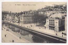 Tulle , Hôtel Des Postes Et Théâtre - Tulle