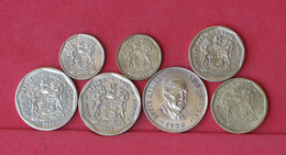 SOUTH AFRICA    - LOT 7 COINS     - (Nº10314) - Südafrika