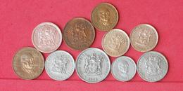 SOUTH AFRICA    - LOT 10 COINS     - (Nº10315) - Südafrika