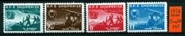 ALBANIA - SHQYPTARE - Year 1958 - Complet  Set - Nuovi -news - MLH*. - Albania