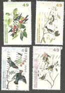 Sc. # 2036-39 John James Audubon's Birds #2 Set Used 2004 K153