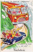 61 - TINCHEBRAY - Carte à Système - Joli Point De Vue, On Voit Tinchebray (complet 10 Vues) - Otros Municipios