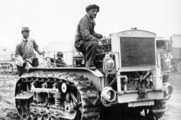 Militaria WW1 -  Tracteur Caterpillar Pour Artillerie Lourde - 1914-18