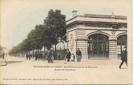 VILLEFRANCHE SUR SAONE  Gare Du Chemin De Fer Du Beaujolais - Villefranche-sur-Saone
