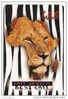 CARTE-PREPAYEE-7.5 €-BEST-CALL-LION-V° N° FOND GRIS-N° Série 3N°x4-31/ 12/03-TBE - Autres Prépayées