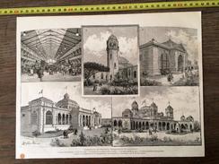 ENV 1900 EXPOSITION DE PALERME INAUGURATION - Collections
