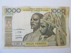 Senegal-French West Africa 1 000 Francs K 1959-1965 - Senegal