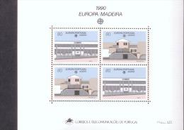 CEPT Postalische Einrichtungen Madeira Block 11 Postfrisch MNH ** - Europa-CEPT
