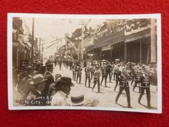 VIRGINIA CITY NEVADA PARADE MUSIQUE 1903 CARTE PHOTO - Etats-Unis