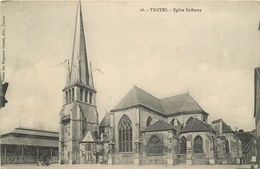 TROYES EGLISE ST REMY - Troyes