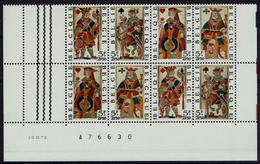 Belgien Belgie Belgium 1973 - Spielkarten - Playing Cards - MiNr 1746-1749 - Spiele