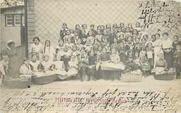 274253-Germany, Nurnberg, RPPC, Hilfskräfte Fürs Rote Kreuz, Red Cross Assistants, 1914 PM, Photo - Red Cross