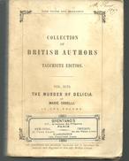 The Murder Of Delicia By Marie CORELLI, Collection Of British Autors Vol 3178 TAUCHNITZ Edition - Novelas