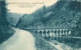 42 - ROCHETAILLEE - Les Vannes Du Pas-du-Riot Et Route Du Barrage - Rochetaillee