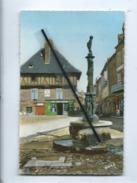 CPSM - St Saint Céré - (Lot) - Fontaine Et Maison Du XVIe Siècle - Saint-Céré