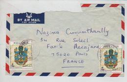 St002794 Enveloppe Aérienne Timbrée Ile Maurice Voir état - Maurice (1968-...)