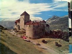 LIECHTENSTEIN  VADUZ SCLOSS CASTELLO   VB1963 STAMP  SELO TIMBRE  10  GC13782 - Liechtenstein