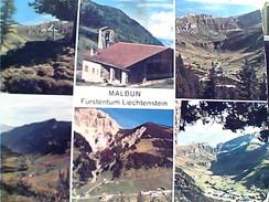 LIECHTENSTEIN  MALBUN  VUES  VB1972 STAMP  SELO TIMBRE  20 ST NICOLAUS  GC13783 - Liechtenstein