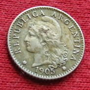 Argentina 5 Centavos 1905 KM# 34  Argentine - Argentine