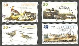 Sc. # 2095-98 John James Audubon's Birds #3 Set Used 2005 K165