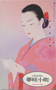 Télécarte Japon / 390-9152 - Femme / COMACHI - Parfum Mode - Woman Girl Perfume Japan Phonecard - Frau TK - 2755 - Parfum