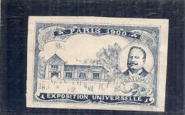 ERINNOPHILIE - Vignette Exposition Universelle PARIS 1900 - Non Gommé -  PORTUGAL ND - Autres