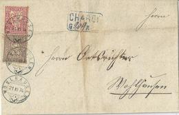 Chargé Brief  Wohlhausen            1874 - Brieven En Documenten
