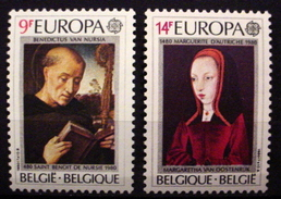 BELGIUM # 1052-1053. Europa. MNH (**) - Unused Stamps