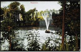 Ein Teich Im Rosarium  -  Ohne Ortsangabe  -  Ansichtskarte Ca.1922   (7085) - Botanik