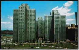USA  -  Pittsburgh  -  Gateway Center  -  Ansichtskarte Ca. 1960   (7086) - Pittsburgh