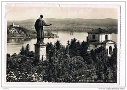 Lago Maggiore - Arona - S. Carlo - Stamp 1938 - Italia - Italy ( 2 Scans ) - Andere Steden