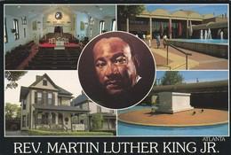 ETATS-UNIS---GEORGIA---ATLANTA--REV. MARTIN LUTHER KING JR.--voir 2 Scans - Atlanta