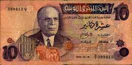 TUNISIE 10 DINARS Du 15-10-1973  Pick 72 - Tunisie