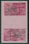 FRANCE 1946 Paire Vignettes TETES-BECHES N XX  Le Néné Non Dentelées Rare - Erinnophilie