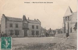 36 - PRISSAC - Mairie Et Ecole Des Garçons - France