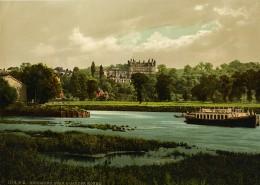 Royaume Uni Londres Richmond Hotel Star & Garter Ancienne Photo Photochrom 1900 - Places