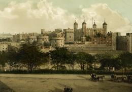 Royaume Uni Tour De Londres Tower Of London Ancienne Photo Photochrom 1900 - Places