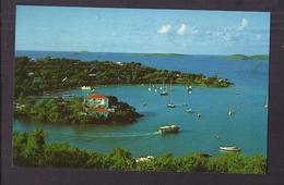 CPSM U.S. VIRGIN ISLANDS - ST. THOMAS - RED HOOK - Très Jolie Vue D'un Port + TB TIMBRE GRENADINES Verso - Vierges (Iles), Amér.