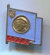 JP / Pioneer Organisation / Ernst Thalmann  -  DDR East Germany, Vintage Pin, Badge, Abzeichen - Pin